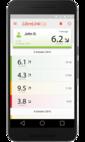 LibreLinkUP app for smartphones